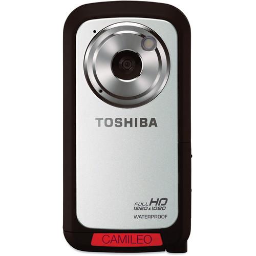Toshiba Camileo BW10 HD Waterproof Camcorder (Silver)