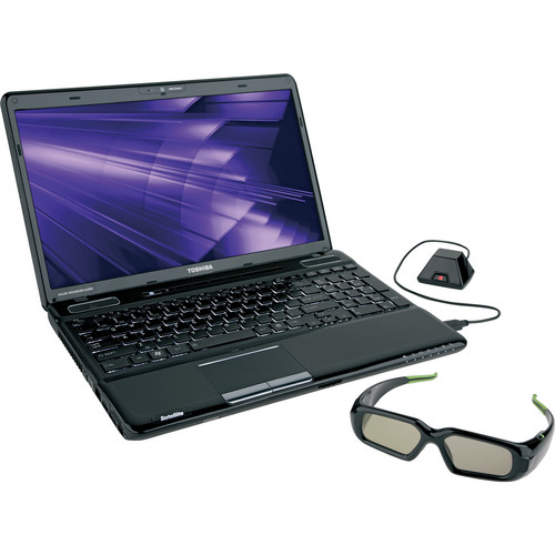 """Toshiba Satellite A665-3DV 15.6"""" Notebook Computer (Charcoal)"""
