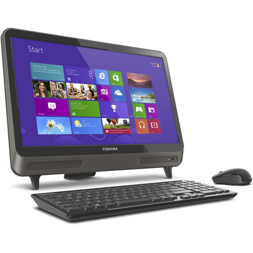 """Toshiba Toshiba LX815-D1310 21"""" All-in-One Desktop (Silver)"""