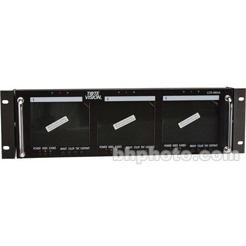 Tote Vision LCD-560X3 Three 5-Inch LCD Monitors