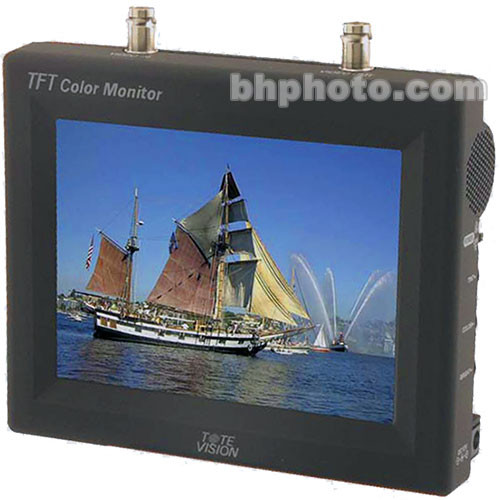 Tote Vision LCD-565 5.6-Inch Portable Color Video Monitor