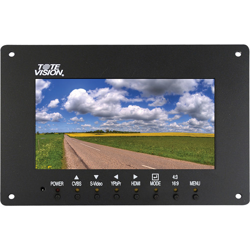 "Tote Vision LCD-703HDL 7"" LCD Field Monitor with LED Backlight"