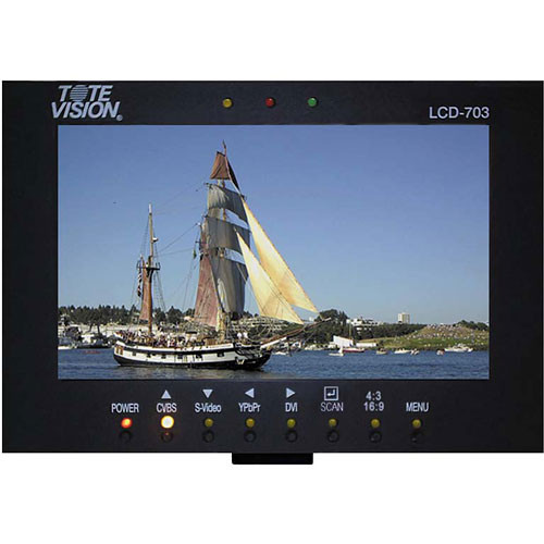 "Tote Vision LCD-703HD 7"" LCD Field Monitor"