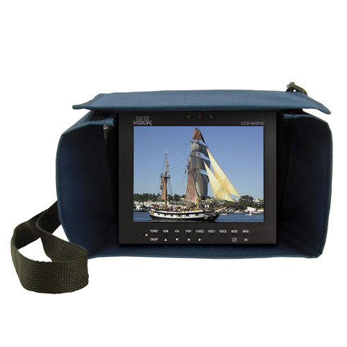 "Tote Vision LCD Monitor (8.4"") Kit with Tote Bag and Rechargeable Battery"