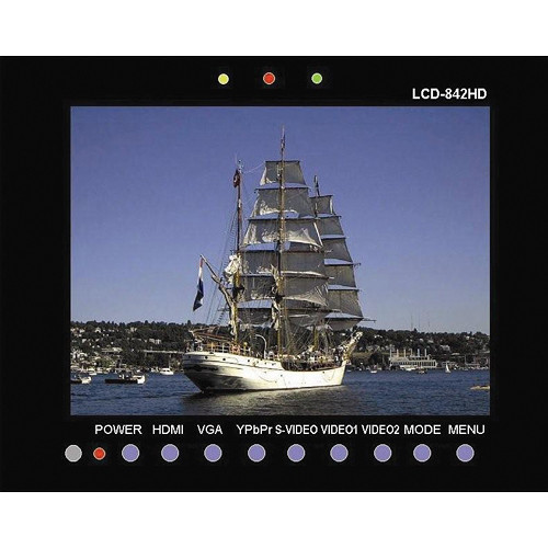 "Tote Vision LCD-842HD 8.4"" Color LCD Monitor"