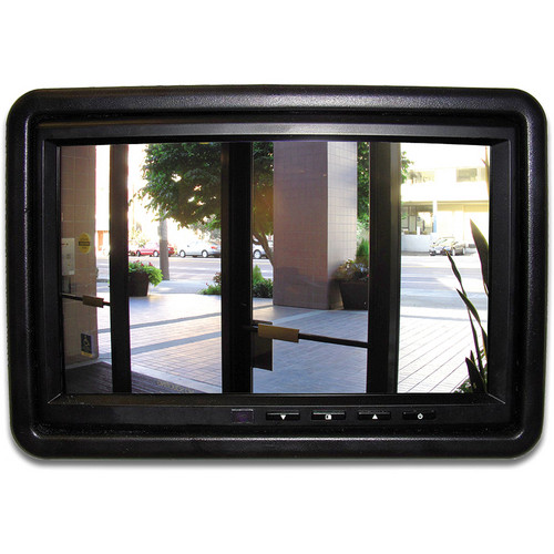 "Tote Vision LED-702 7.0"" Flush-Mount Monitor For Access Control"