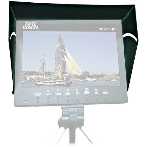 Tote Vision SS-703HD Metal Sun Shield for LCD-703HD Monitor