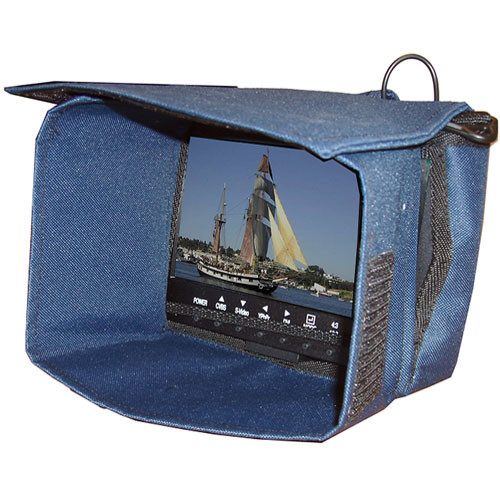 """Tote Vision TB-565 Tote Bag with Sun Shield - for Tote Vision LCD-565 Active Matrix 5.6"""" LCD Color Field Monitor"""