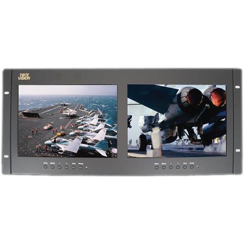 """Tote Vision Dual 9.7"""" Rack Mount Monitors"""