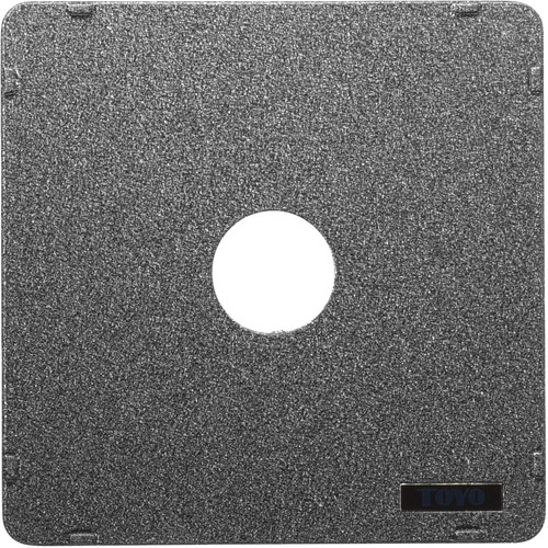 Toyo-View Flat 158 x 158mm Lensboard for #0 Copal/Compur Shutters with Toyo View Cameras