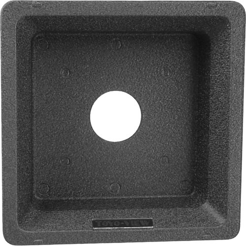 Toyo-View Recessed 158 x 158mm Lensboard for #0 Shutters for Toyo View Cameras