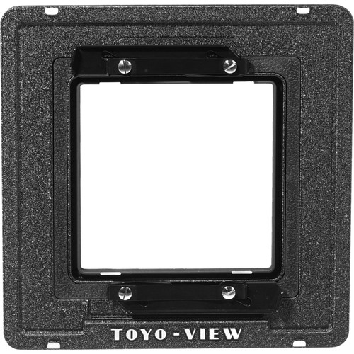 Toyo-View Flat Lensboard Adapter (Graphic Lensboards on Toyo View Cameras)