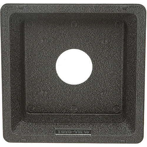 Toyo-View Recessed 158 x 158mm Lensboard for #1 Shutters with Toyo View Cameras