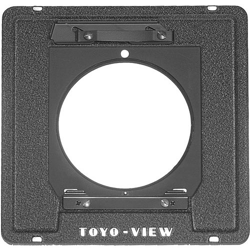 Toyo-View Flat Lensboard Adapter (Technika-type Lensboards on Toyo View Cameras)