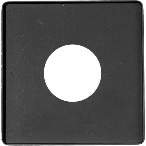 Toyo-View Flat Lensboard for #0 Sized Shutters in Graphic Cameras