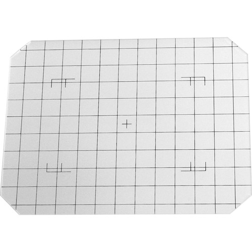 Toyo-View 4x5 Groundglass Focusing Screen - Black Grid