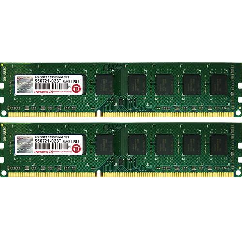 Transcend 8GB (2 x 4GB) DIMM Memory for Desktop Kit