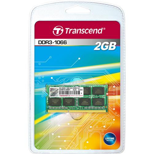Transcend 2GB SO-DIMM Memory for Notebook