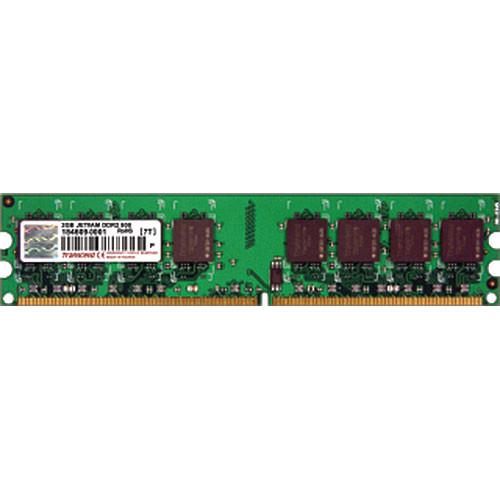 Transcend 2GB (2x1GB) DIMM Upgrade Kit for Desktop