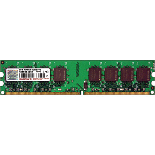 Transcend 4GB (2x2GB) DIMM Upgrade Kit for Desktop