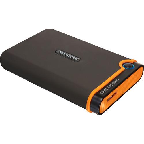 "Transcend 128 GB USB 3.0 1.8"" (4.57 cm) Portable SSD"