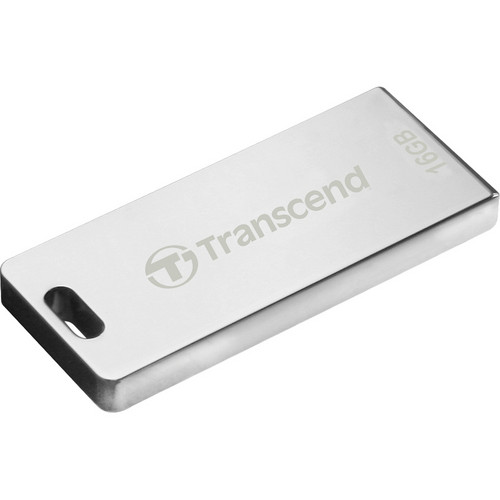 Transcend JetFlash T3 USB Flash Drive (16GB, Silver)