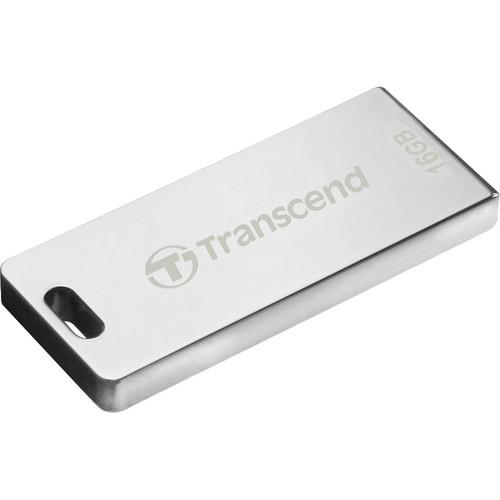 Transcend JetFlash T3 USB Flash Drive (16GB, Silver)