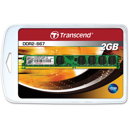 Transcend 2GBDIMM Memory for Desktop