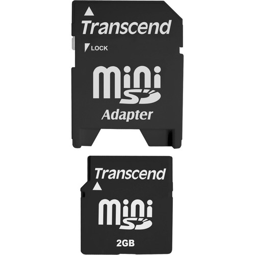 Transcend 2GB miniSD Memory Card 80x