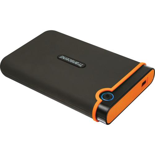 "Transcend 320GB StoreJet 25M2 Portable 2.5"" External Hard Drive (Orange)"
