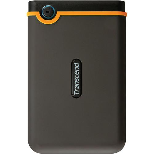 Transcend 750 GB StoreJet 25M2 Portable Hard Drive (Black)
