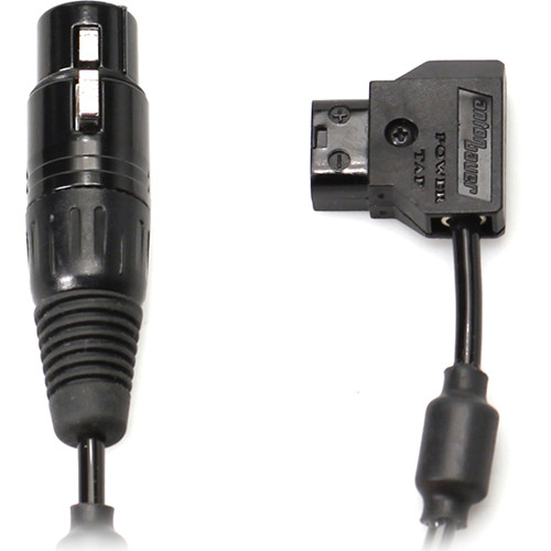 "Transvideo XLR4 Female to Anton-Bauer 2 Power Cable (30"")"