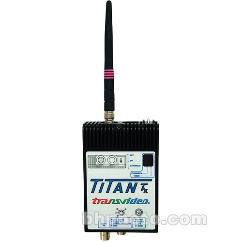 Transvideo 95TITANTX Titan Wireless Video Transmitter