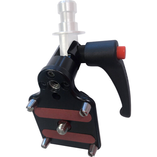 Transvideo Clamp with Spigot/Spud U interface for Slides with Kipp Handle