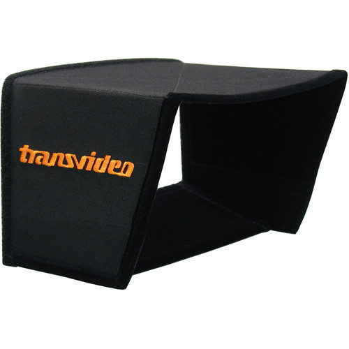"Transvideo Deluxe Hood for 6"" HD Center with Bottom Flap"
