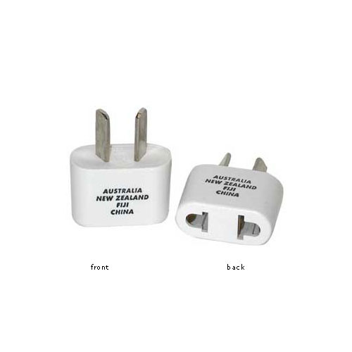 Travel Smart by Conair NW2C Adapter Plug - 2-Prong USA Devices Within Australia