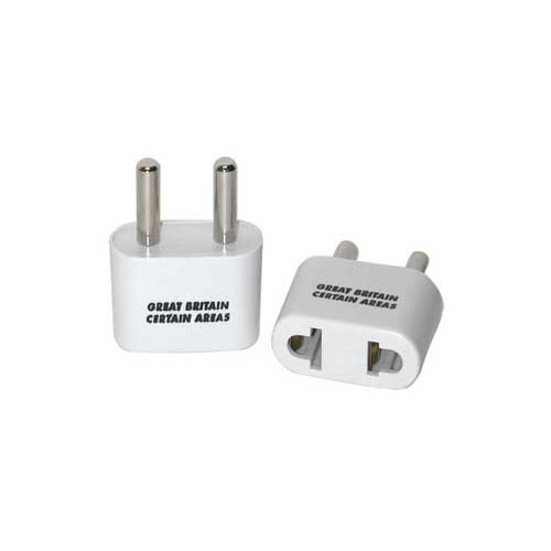 Travel Smart by Conair Adapter Plug NW4C - Allows Ungrounded 2-Prong USA Devices to be used with 2-Prong Power Supplies in Certain Parts of Great Britain