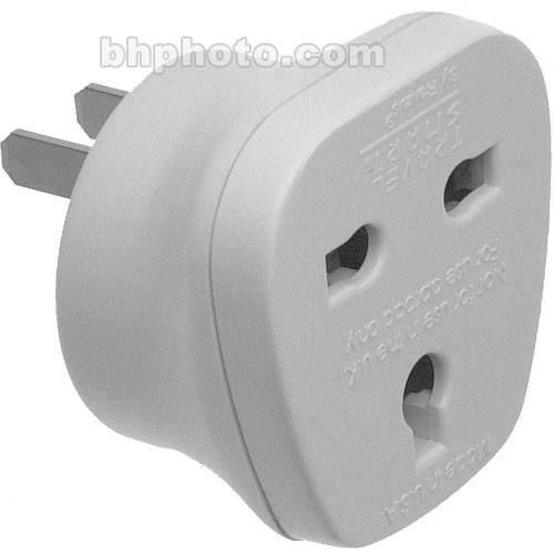 Travel Smart by Conair NW7C Adapter Plug - 3-Prong UK Devices With USA's 2-Prong Power