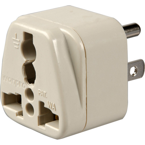 Travel Smart by Conair NWG3C  Adapter Plug - Grounded 3-Prong to Grounded 3-Prong USA