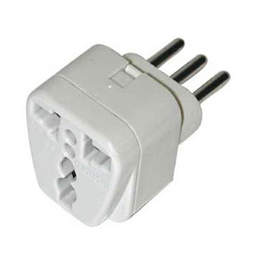 Travel Smart by Conair NWG-11C Grounded Adapter Plug USA to Italy