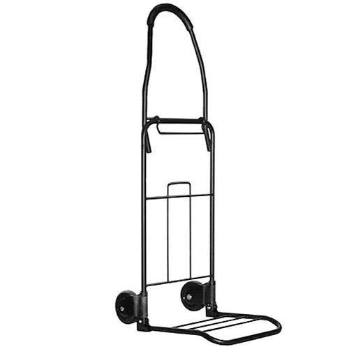 Travel Smart by Conair Flat-Folding Multiuse Cart (Black)