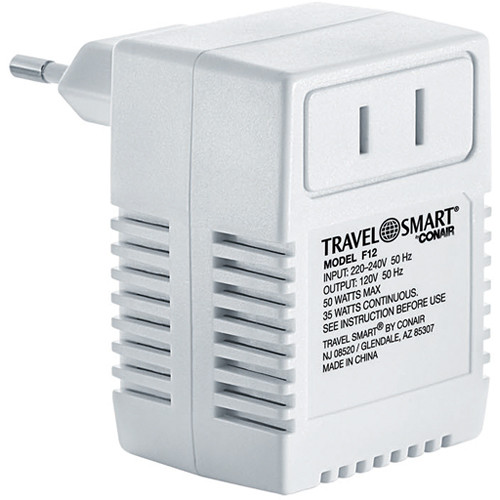Travel Smart by Conair F12 50-Watt Travel Smart International Transformer