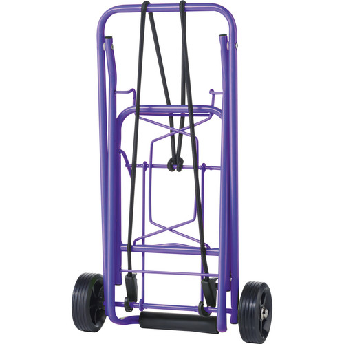 Travel Smart by Conair Folding Multi-Use Cart (Purple)