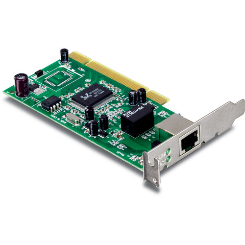 TRENDnet TEG-PCITXRL Low Profile Gigabit PCI Adapter