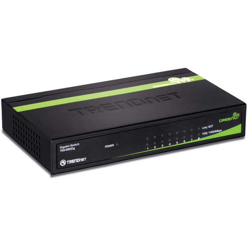 TRENDnet TEG-S80Dg 8-Port Gigabit GREENnet Switch