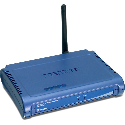 TRENDnet 54 Mbps Wireless G PoE Access Point