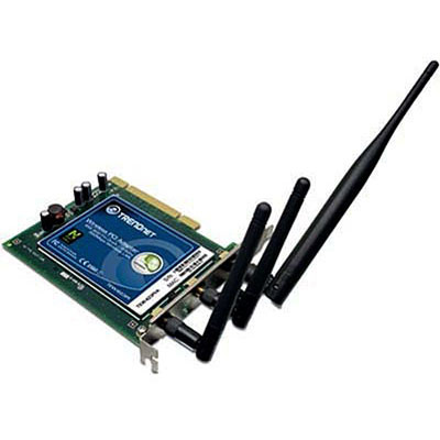 TRENDnet 300 Mbps Wireless N-Draft PCI Adapter