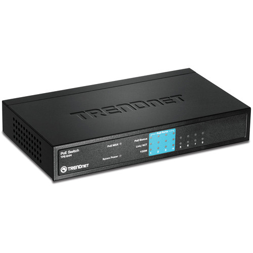 TRENDnet 8-Port 10/100Mbps PoE Switch