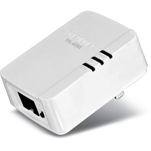TRENDnet TPL-406E 500Mbps Compact Powerline AV Adapter