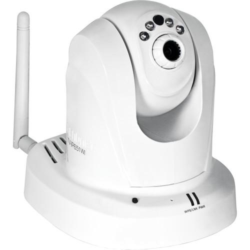 TRENDnet TV-IP651WI Wireless N Day/Night PTZ Internet Indoor Camera